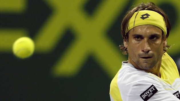 David Ferrer of Spain (AFP)