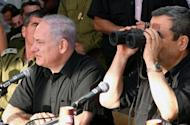 Israeli Prime Minister Benjamin Netanyahu and Defence Minister Ehud Barak (R), pictured in 2010. Israel's former security chief Yuval Diskin has accused them of misleading the public about the chances any pre-emptive military action against Iran's nuclear facilities succeeding