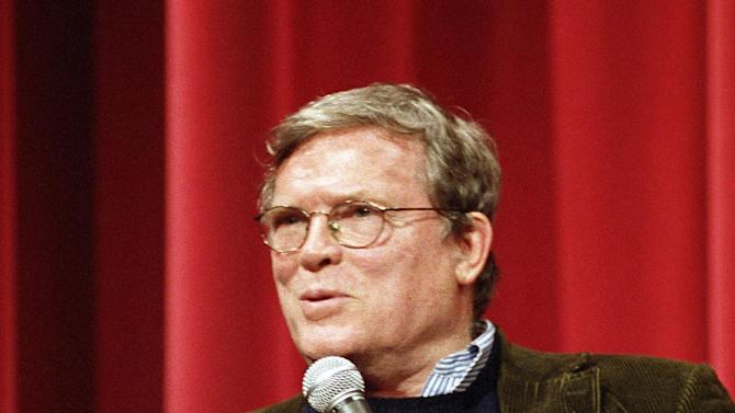 "This Oct. 28, 1998 publicity photo provided by courtesy of AMPAS shows D. A. Pennebaker at the ""Docs Rock"" event in Beverly Hills, Calif.  Hal Needham, D.A. Pennebaker, George Stevens, Jr., and Jeffrey Katzenberg will accept their Oscar statuettes at the 4th annual Governors Awards from the Academy of Motion Picture Arts and Sciences' Board of Governors at a private ceremony Saturday, Dec. 1, 2012, at the Hollywood and Highland Center, in Los Angeles. (AP Photo/AMPAS, Long Photography)"