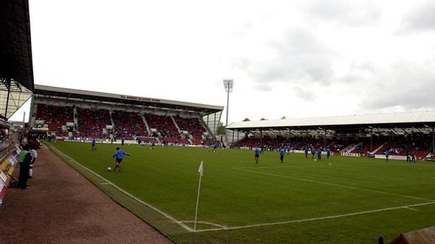 East End Park, home of Dunfermline Athletic