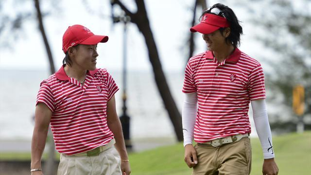 Golf - Asia claim Royal Trophy after playoff with Europe