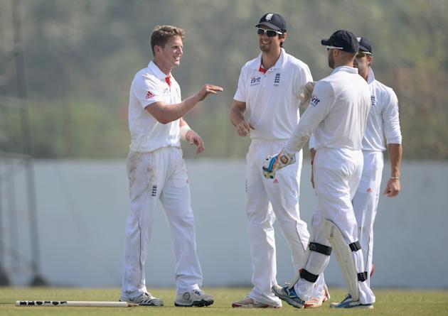 Haryana v England: Tour Match - Day Three