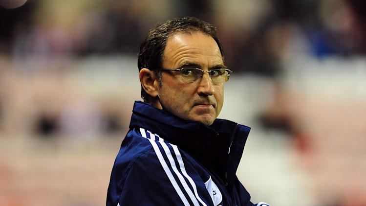 Martin O'Neill accepted his Sunderland side were not good enough