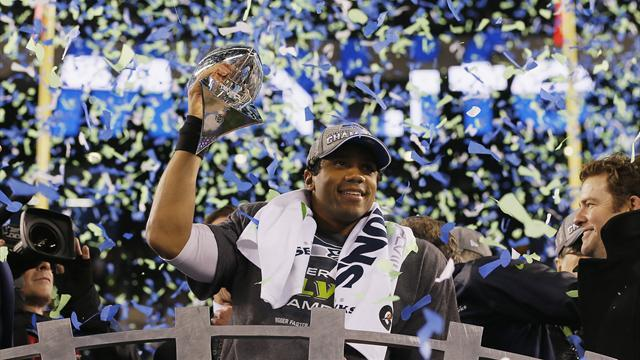 American Football - Wilson shows maturity beyond his years to win Super Bowl
