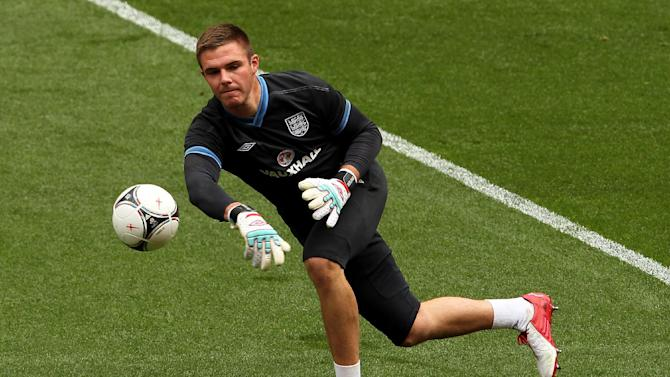 Jack Butland was part of England's Euro 2012 squad in Poland and Ukraine