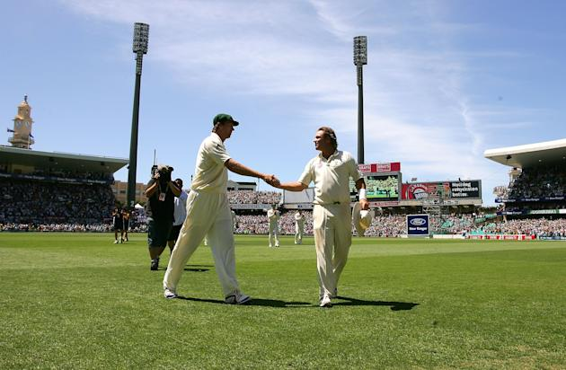 Fifth Test - Australia v England: Day Four