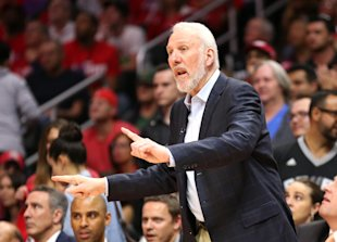 Gregg Popovich has led the Spurs to five NBA championships. (Getty)