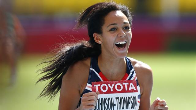 Athletics - Ennis-Hill backs rising star Johnson-Thompson to break British best
