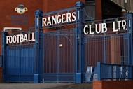 The entrance to Rangers' Ibrox stadium in Galsgow. The prospective owner of troubled Scottish giants Rangers admitted Tuesday that British tax officials will vote against his proposal for a way to exit administration