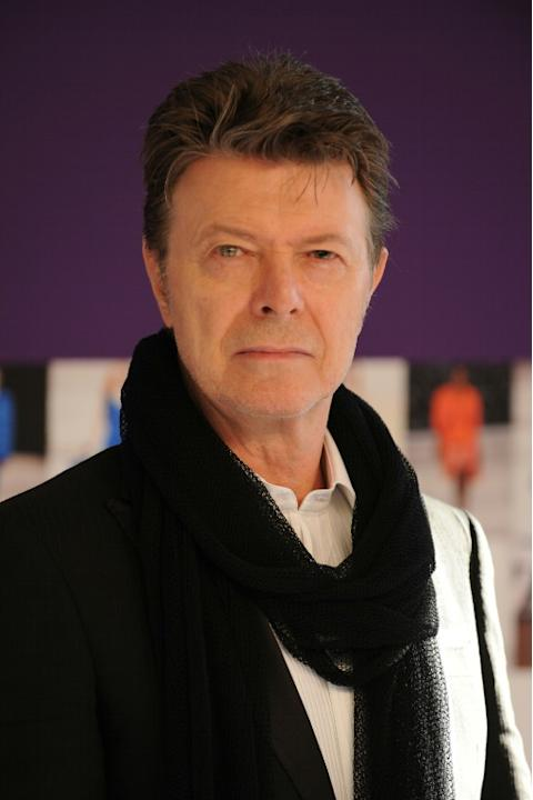 """David Bowie, pictured on June 7, 2010, is writing music for """"SpongeBob The Musical"""""""
