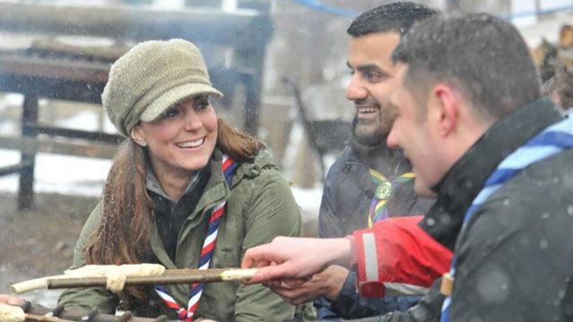 Kate Middleton's Day in the Great Outdoors