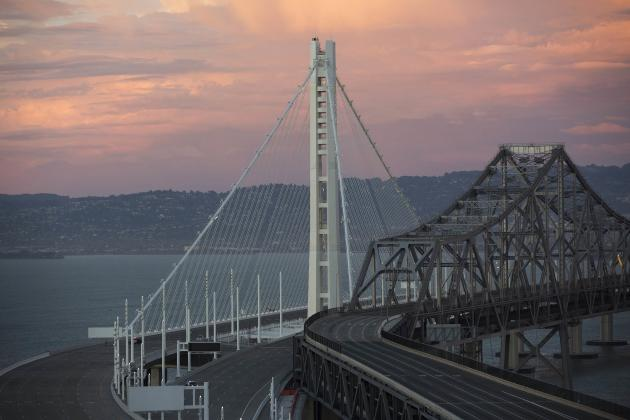 Bay Bridge opens to traffic