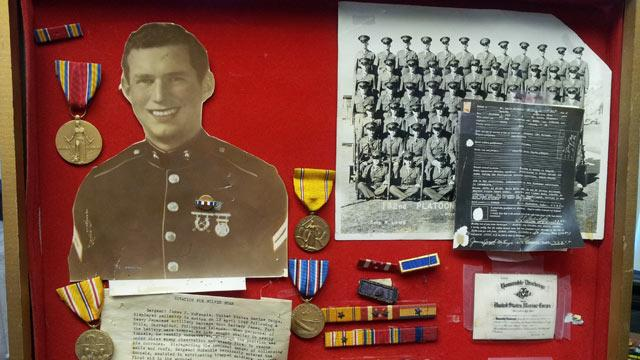Daughter of World War II Vet Located After Medals Donated to Goodwill