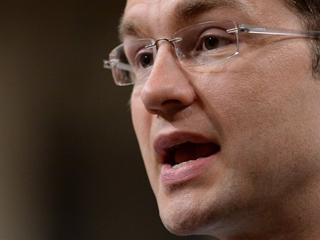 Minister for Democratic Reform Pierre Poilievre