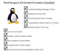 SEO Writing Post Penguin 2.0 Checklist: 10 Things to Check Before and After Hitting Publish image seo writing guidelines post penguin2.0 300x263