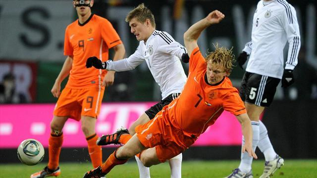 Bundesliga - Netherlands and Germany draw blank in Amsterdam