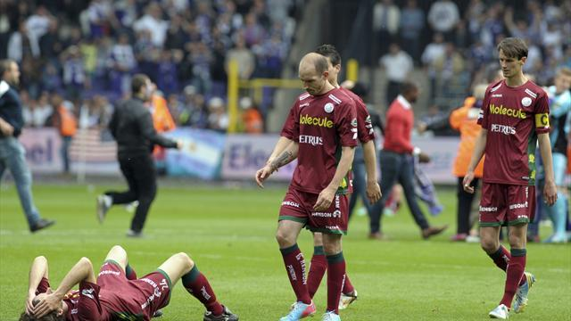 European Football - Zulte Waregem to play at Anderlecht