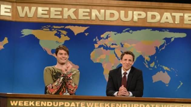 Bill Hader as Stefon on 'Saturday Night Live' -- NBC