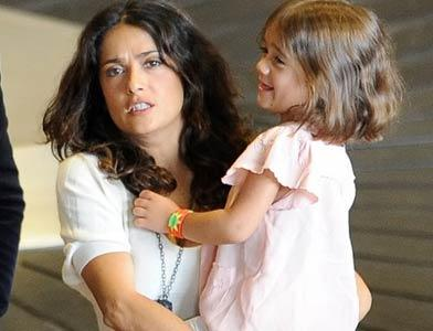 pst Salma Hayek And Family