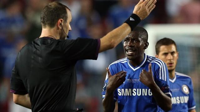 European Super Cup - Mourinho: Ramires didn't deserve red