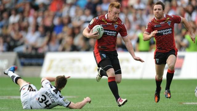 Rugby League - Champions Leeds in shock defeat to Huddersfield