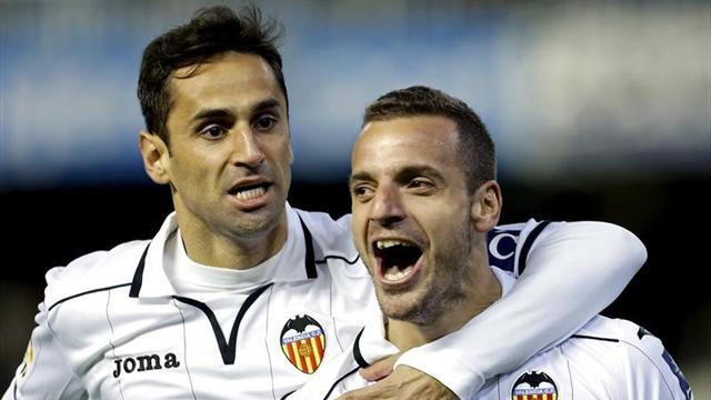 Spanish Liga - Soldado fires Valencia to win over Sevilla