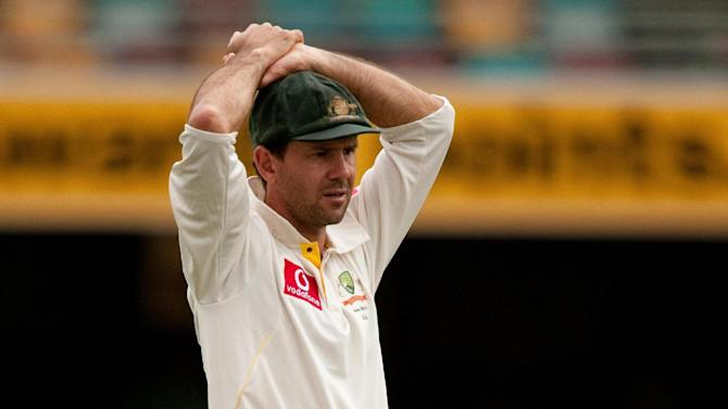 Ricky Ponting is struggling with a hamstring problem