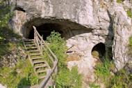 The toe bone of a Neanderthal woman was uncovered in the Denisova Cave (shown here) in southern Siberia, the same place where the first signs of the Denisovans, a relatively newfound human lineage, were found.