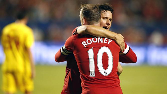 Premier League - Captain Rooney leads United to win over Liverpool
