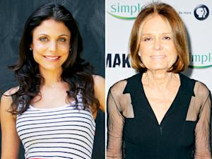 "Bethenny Frankel Calls Divorce ""Excruciating,"" Gloria Steinem Speaks Out Against Criticism of Kim Kardashian's Body: Today's Top Stories"