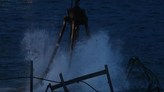 Iconic Jet Star Roller Coaster Damaged By Hurricane Sandy Torn Down
