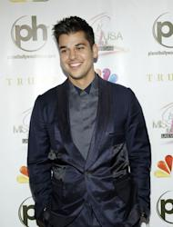 Rob Kardashian arrives at the 2012 Miss USA pageant the Planet Hollywood Resort & Casino, Las Vegas, on June 3, 2012 -- Getty Images