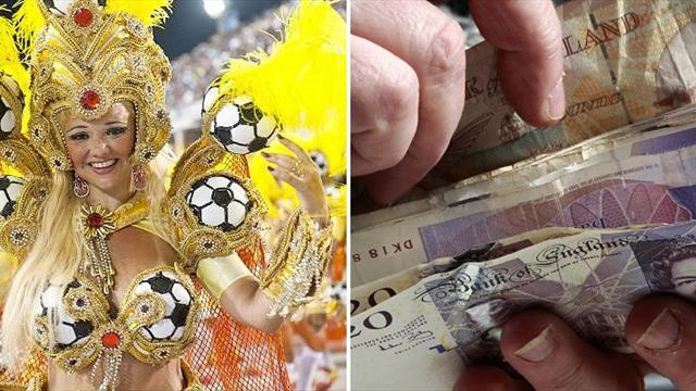 World Cup - Why missing out on Brazil's World Cup party would cost £1 billion