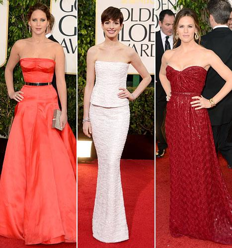 Golden Globes 2013: Us' Best-Dressed List Revealed!