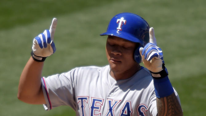 Rangers' bats come alive for Darvish in 14-3 win