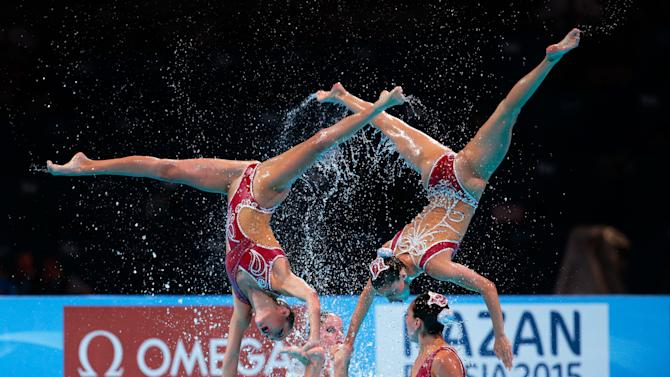 Synchronized Swimming - 15th FINA World Championships: Day Seven