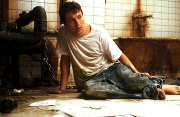 Leigh Whannell in Lions Gate Films' Saw