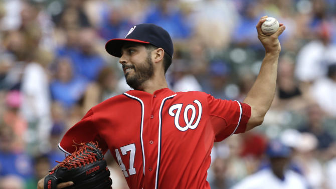Nationals beat Cubs 7-2 for day-night DH sweep