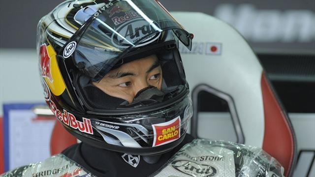 Motorcycling - Aoyama back after finger reconstruction