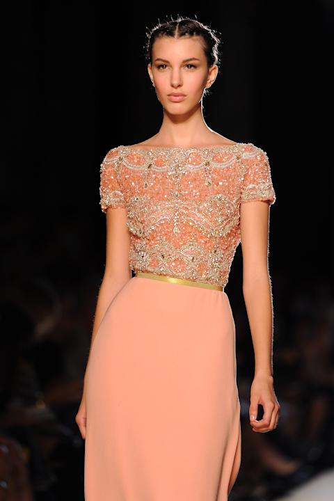 Elie Saab: Runway - Paris Fashion Week Haute Couture F/W 2012/13