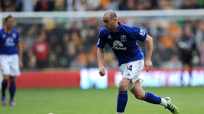 James McFadden joined Everton after his release from Birmingham