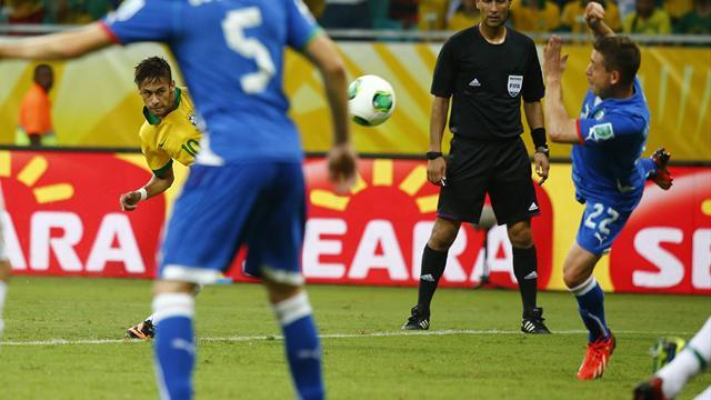 Football - Italy alarmed by unusually generous defence