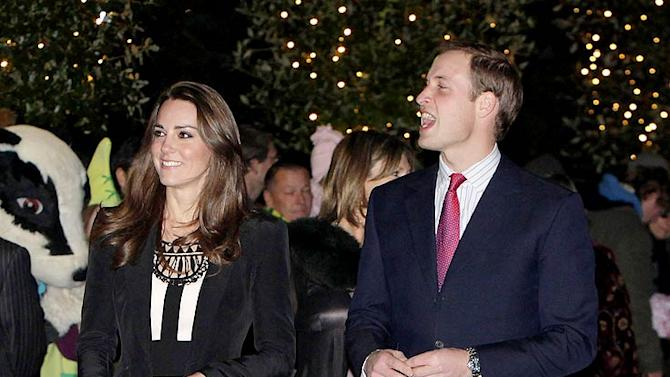 Middleton Prince William Xmas Prty