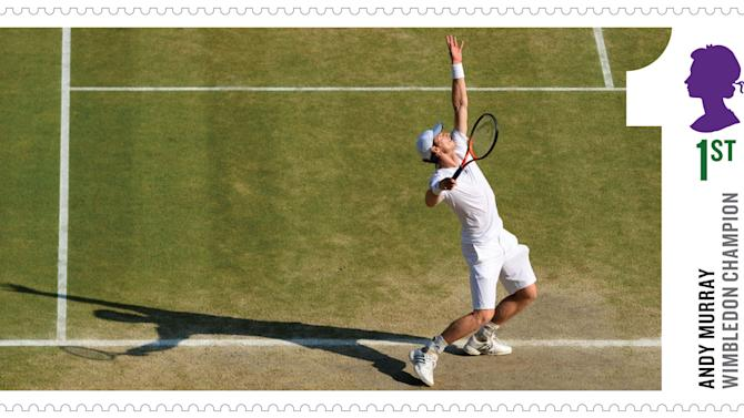 Murray victory celebrated on stamps