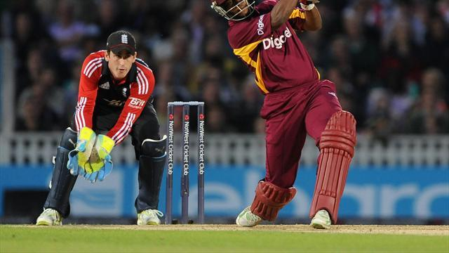 Cricket - Twin tons put Windies in control