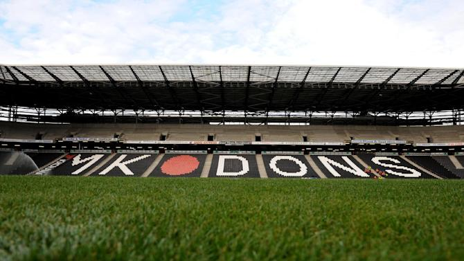 MK Dons host AFC Wimbledon in the FA Cup next month
