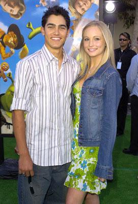 Tyler Hoechlin and Candace Accola at the L.A. premiere of Dreamworks' Shrek 2