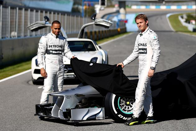 Mercedes GP F1  Launch