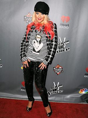 Write a Fashion Police Caption for Christina Aguilera