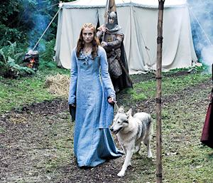 of Thrones Star Sophie Turner Adopted Dog Who Played Her Dire Wolf